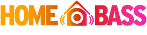 Home Bass Orlando festival logo in orange and pink